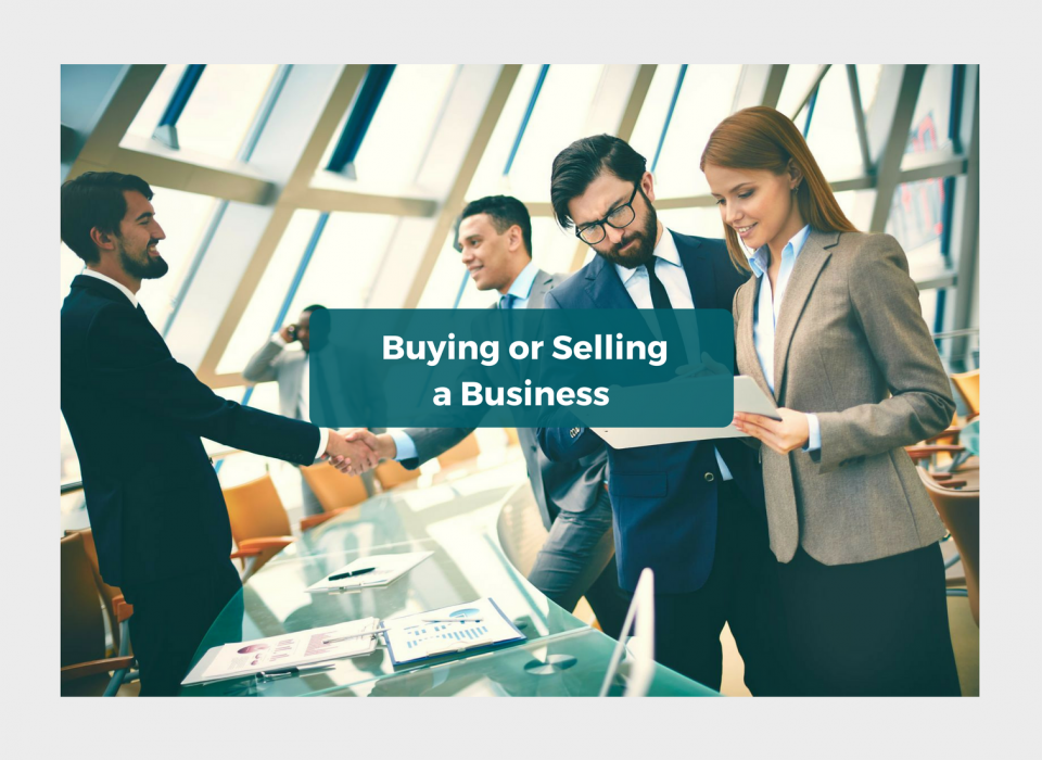 Buying or Selling a Business